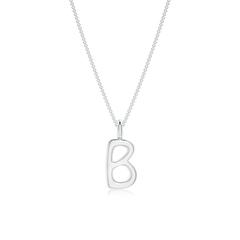 """Capital """"B"""" Initial Pendant"""